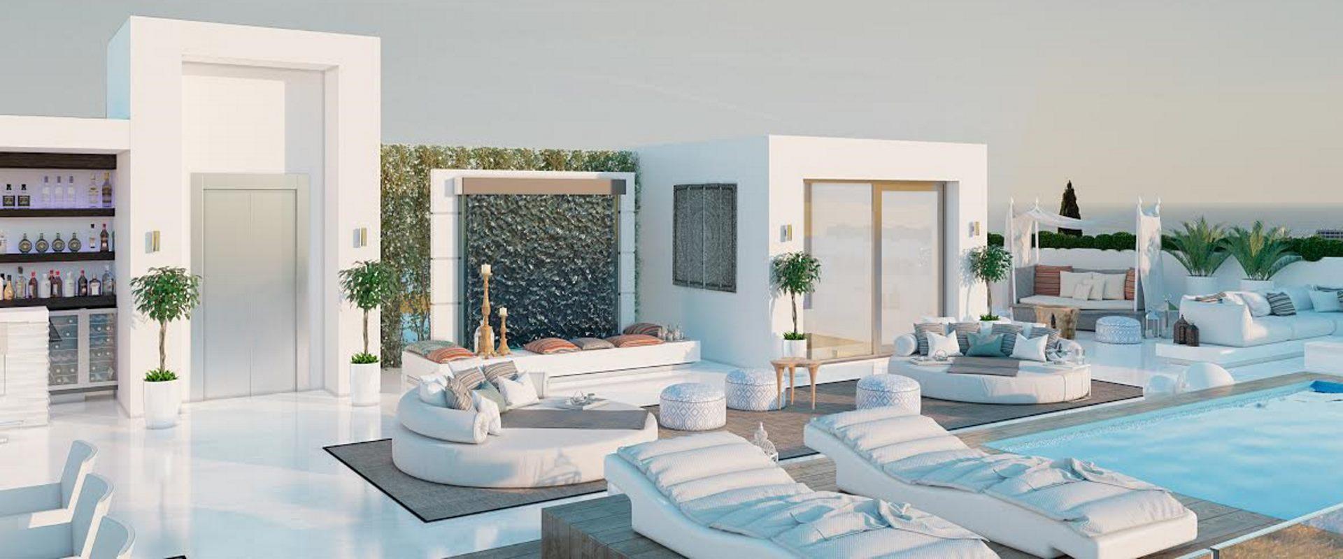 Cascada de Camojan Property for sale with 227m2 Roof Garden