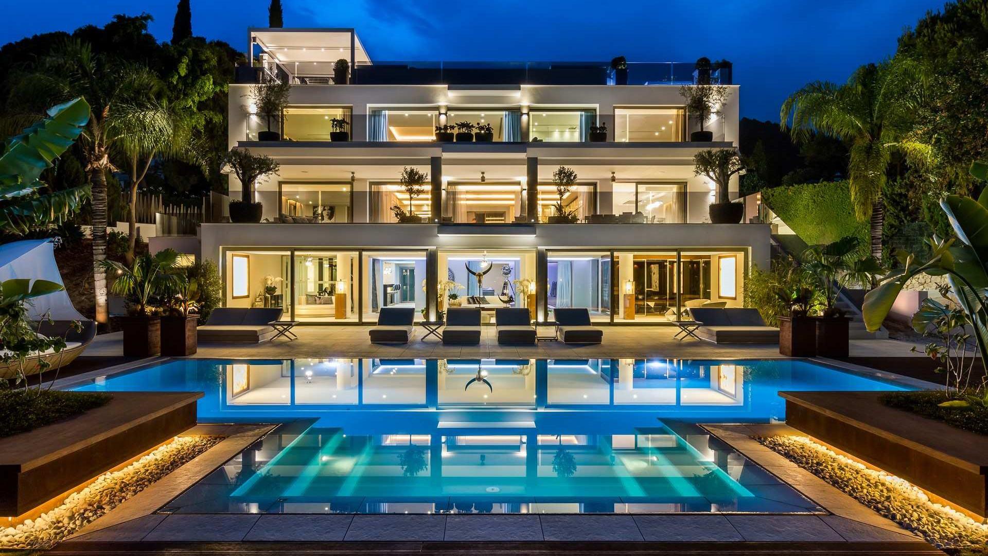 Marbella contemporary villa serenity - Ambience home design marbella ...