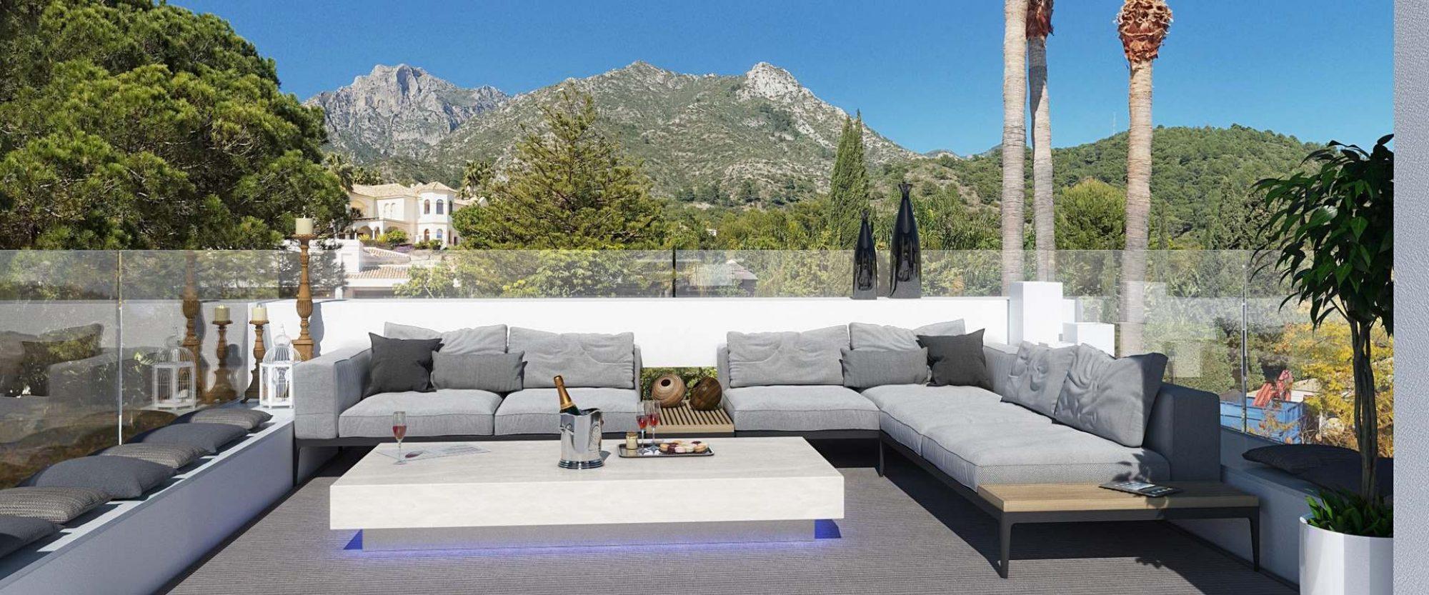 Cascada de Camojan Villa for sale with epic roof terrace