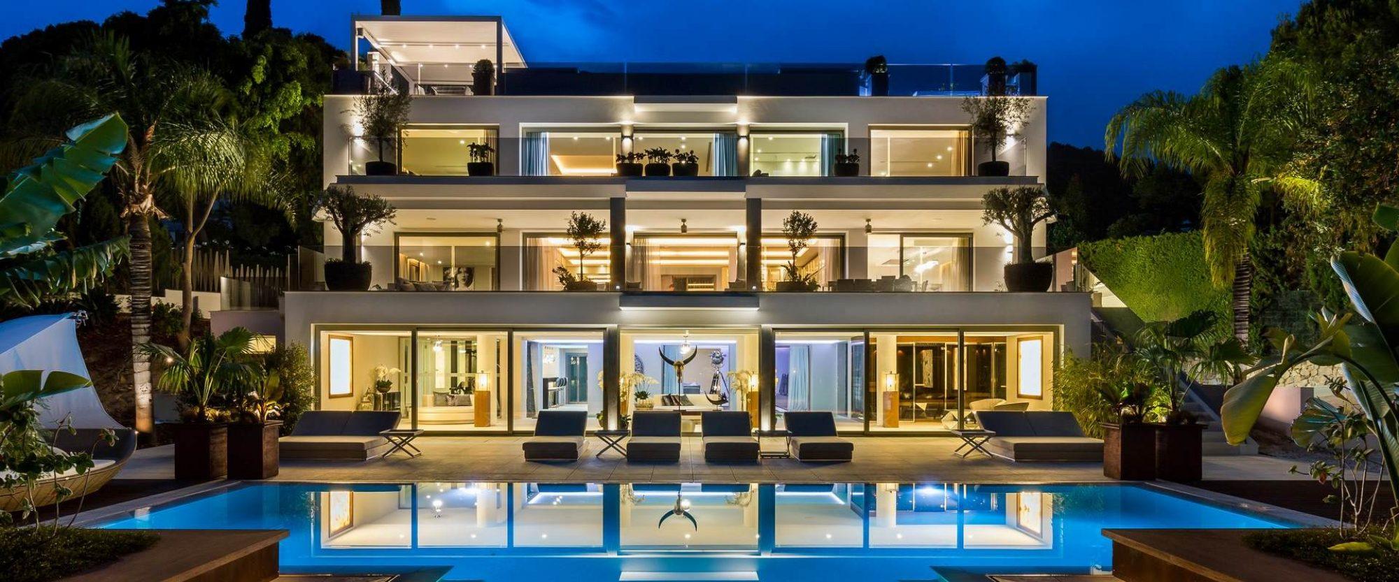 Marbella contemporary villa serenity - Domotica marbella ...