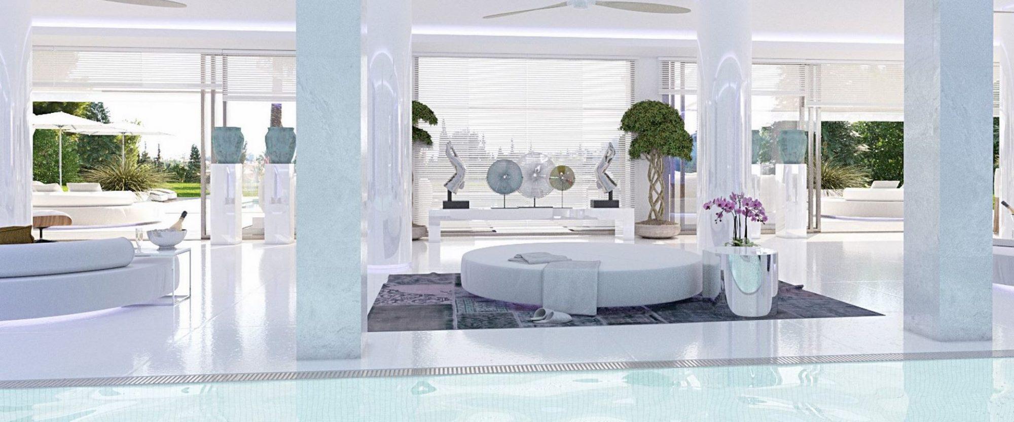Cascada de Camojan Villa for sale with luxury spa