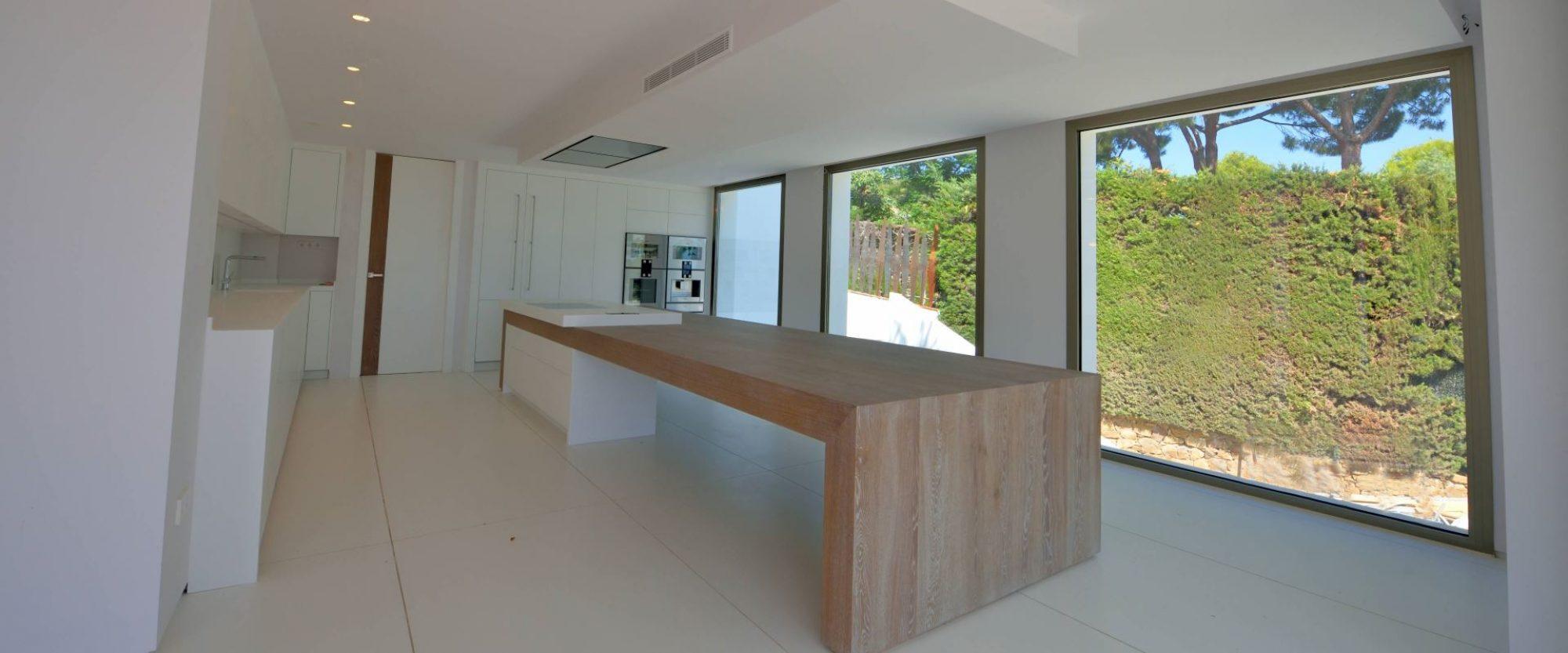 for sale contemporary villa in cascada de camojan marbella modern kitchen